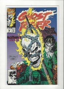 Ghost Rider (1990 series) #30 Nightmare  NM Near Mint condition Marvel comics