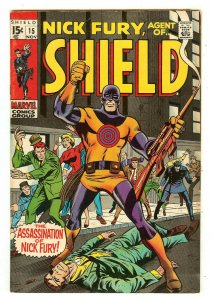 Nick Fury Agent Of Shield 15   1st & death Bullseye cover & story