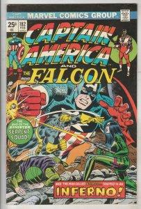 Captain America #182 (Feb-75) VF/NM High-Grade Captain America