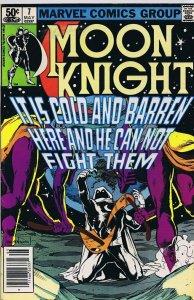 Moon Knight #7 ORIGINAL Vintage 1981 Marvel Comics Disney+