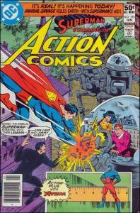 DC ACTION COMICS (1938 Series) #515 FN
