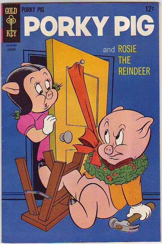 Porky Pig #16 (Jan-68) VF/NM- High-Grade Bugs Bunny, Porky Pig, Patunia Pig,