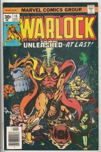 Warlock #15 (Nov-76) VF/NM+ High-Grade Adam Warlock