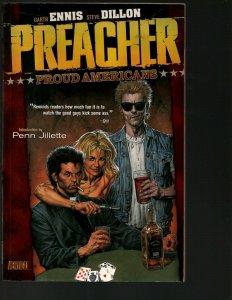 Preacher Vol. # 3 Proud Americans DC Vertigo Comic Book TPB Graphic Novel J402