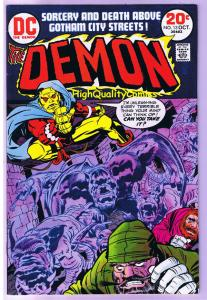 DEMON #13, VF, Jack Kirby, 4th World, Etrigan, 1972, more JK in store