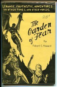 Garden Of Fear 1945-Crawford-Fobert E Howard-HP Lovecraft-digest sized-FN