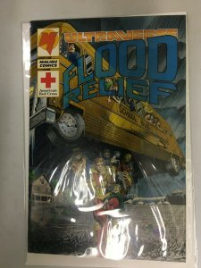 Ultraverse Flood Relief #1 American Red Cross Malibu 8.0 VF (1994) 50% Donation