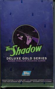 Shadow Trading Cards Deluxe Gold Series 1994-unopened box-original-unopened-NM