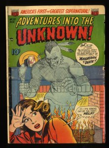 Adventures Into The Unknown #37 GD/VG 3.0