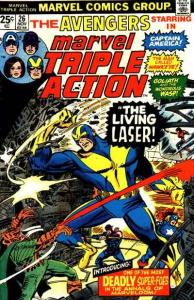 Marvel Triple Action (1972 series) #26, VF- (Stock photo)