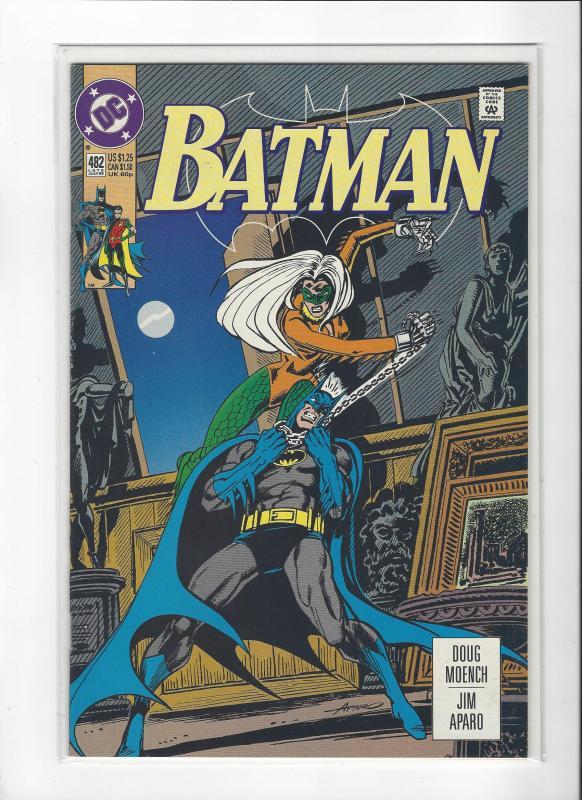 BATMAN #482  DC COMICS NM