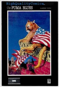 PUMA BLUES #3, Michael Zulli, NM-, 1986, Indy, Stirrings, more indies in store
