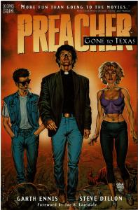 Preacher - Gone to Texas (2nd Print), 9.4 or Better (Mature Readers)