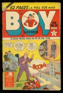BOY COMICS #62 1951-CHARLES BIRO-DEATH ISSUE VG/FN