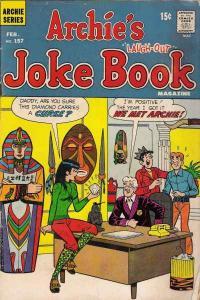 Archie's Joke Book Magazine #157, VG (Stock photo)