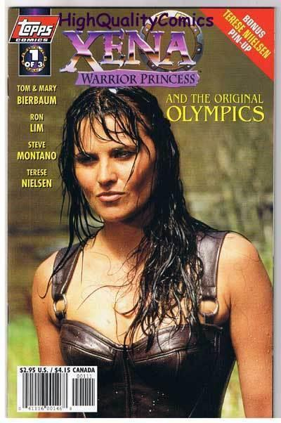 XENA WARRIOR PRINCESS OLYMPICS #1, NM+, Lucy Lawless, 1998, more in store