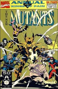 Marvel THE NEW MUTANTS (1983 Series) Annual #7 NM