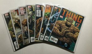 The Thing 1-8 1 2 3 4 5 6 7 8 Lot Very Fine Vf 8.0 Marvel