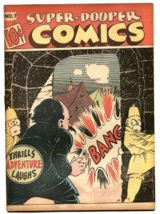 Super-Dooper #7 1946-SHOCK GIBSON-Hitler appearance VG