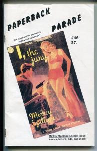 Paperback Parade #2 1981-Lovisi-Mickey Spillane special issue-VG