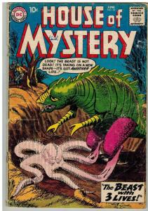 HOUSE OF MYSTERY 99 FR-G June 1960 COMICS BOOK