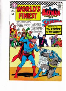 World's Finest #163 (Dec-66) VF High-Grade Superman, Batman, Robin