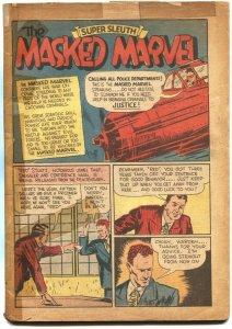 KEEN DETECTIVE FUNNIES #19-CENTAUR-1940-MASKED MARVEL-THE EYE-VERY RARE