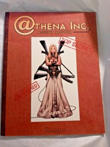 2002 ATHENA INC Agent Roster #1  SC 1st Printing - Image Comics TPB VF
