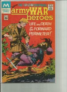 Army War Heroes #36A FN; Charlton | save on shipping - details inside