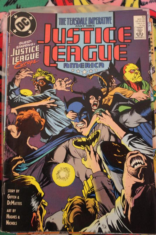Justice League America  32  VF