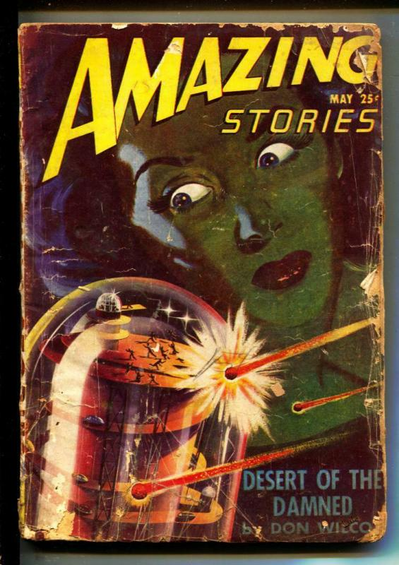 Amazing Stories-Pulps-5/1947-Richard S. Shaver-Don Wilcox