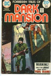 Forbidden Tales of the Dark Mansion 14  G/VG  1973