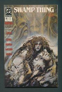 Swamp Thing Annual #5  (2nd Series)  9.0 VFN/NM  1989