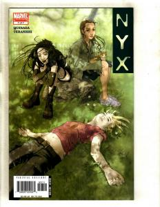 NYX # 7 NM 1st Print Marvel Comic Book X-23 Wolverine X-Men X-Force Cable SM8