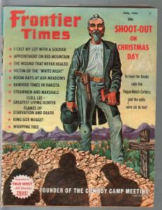 Frontier Times 7/1965-Western-Christmas Dat Shoot-Out-history-VG