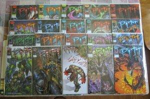 Pitt #1-20 Complete Set NM+ 9.6-9.8 High Grade Image/Full Bleed Dale Keown 1993