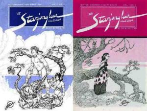 STARJONGLEUR COLLECTION (1986 TY) 1-2 fantasy anthology
