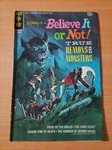 Ripley's Believe It or Not #22 ~ FINE - VERY FINE VF ~ 1970 Gold Key Comics