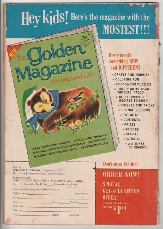 Uncle Scrooge, Walt Disney #50 (Jul-64) VG Affordable-Grade Uncle Scrooge
