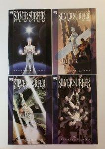 Silver Surfer Requiem #1-4 Complete Set Marvel Comics 2007 VF/NM Or Better