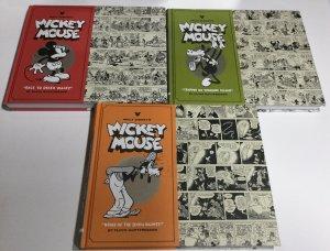 Walt Disney's Mickey Mouse Volume 1 2 4 Nm Near Mint Oversized Fantagraphic