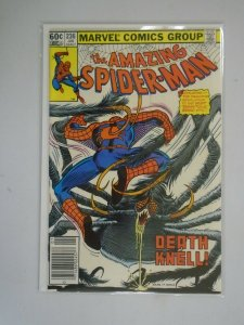 Amazing Spider-Man #236 Newsstand edition 7.5 VF- (1983 1st Series)