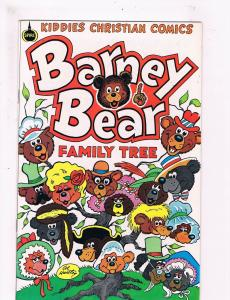 Barney Bear Family Tree # 1 VF Spire Kiddies Christian Comic Books Great!!! SW12