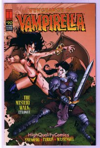 VENGEANCE of VAMPIRELLA 20, NM-, Fangs, Blood, Vampire, 1994, more in store