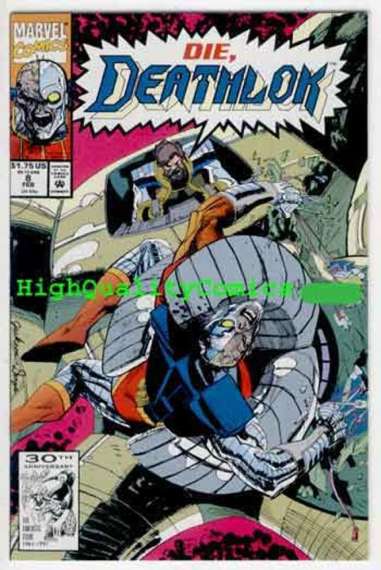 DEATHLOK #6 7 8 9 10 , NM+, Cyborg, 1992, vs Punisher, Ghost Rider,more in store