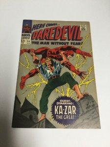 Daredevil 24 Vg/Fn Very Good/Fine 5.0 Marvel Comics Silver Age