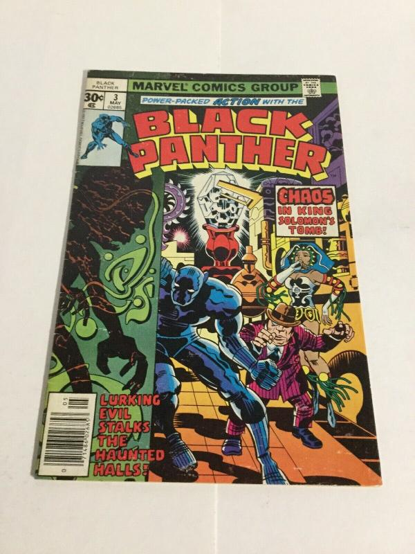 Black Panther 3 Fn+ Fine+ 6.5 Marvel