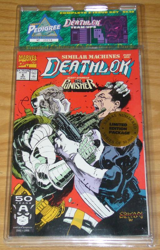 Treat Pedigree Collection: Deathlok Team-Ups VF/NM punisher - sleepwalker marvel