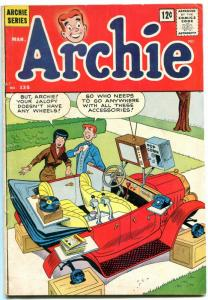 Archie Comics #135 1963- Great Jalopy cover- records VG