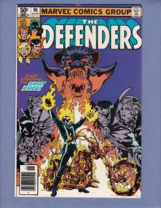 Defenders #96 VF/NM Ghost Rider Marvel 1981